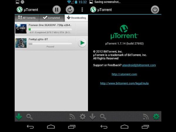 µTorrent Beta App, uTorrent App, Android Apps