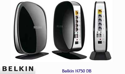 Belkin N750 DB Router, Wireless Router, Dual-Band N+ Router