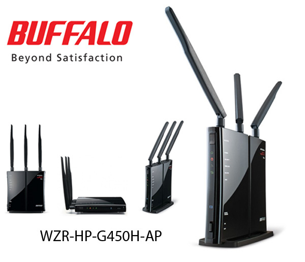 Buffalo Router, Wireless Networking Device