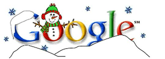 top 5 google doodles of the christmas. Black Bedroom Furniture Sets. Home Design Ideas