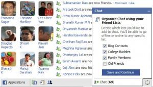 Facebook.com, Facebook Chat, Hide online status
