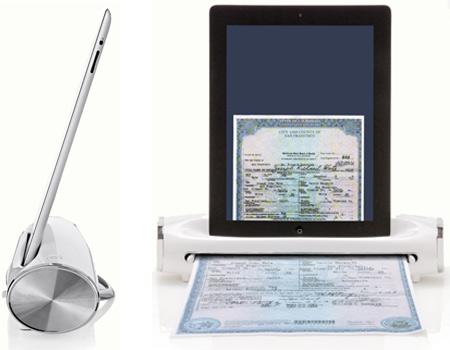 iConvert, iConvert Scanner, iPad Scanner