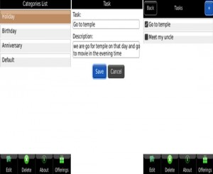 BlackBerry Apps, Life Organizer App