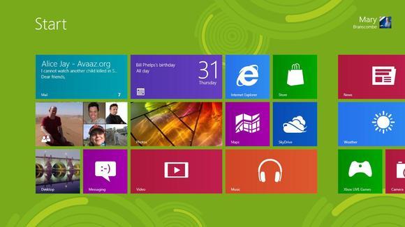 Windows 8, Microsoft Windows 8