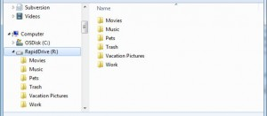 RapidShare, RapidDrive Features, Cloud Storage Service