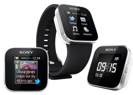 Sony SmartWatch, Sony Smartphones, Android Smartphones