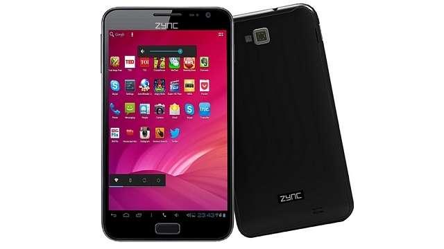 Zync Cloud Z5, Dual SIM Phablet