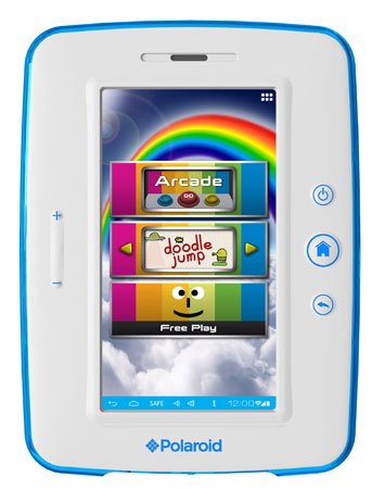 Polaroid Kids Tablet, Polaroid Android Tablet, Android 4.0 Tablet