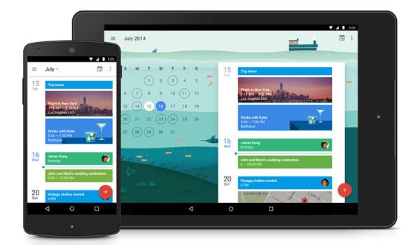 Google Calendar, Google Calendar App