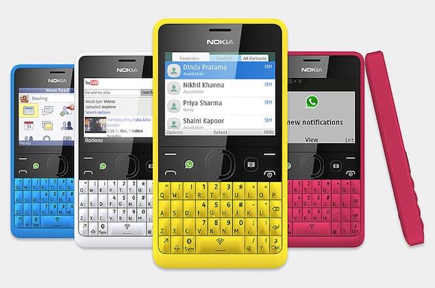 WhatsApp, Nokia Asha