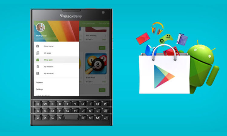 BlackBerry, Google Play Store