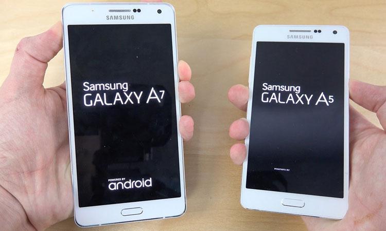 Samsung Galaxy A5, Samsung Galaxy A7