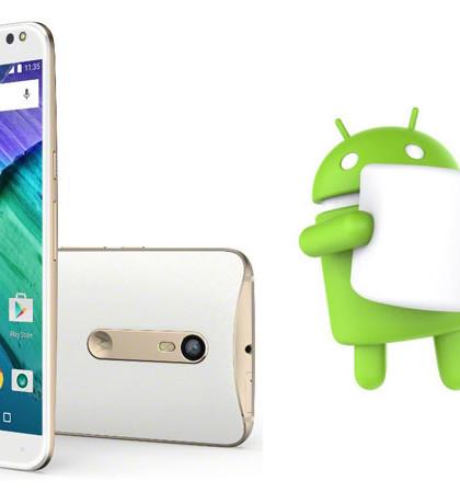 Motorola, Motorola Moto X, Android Marshmallow