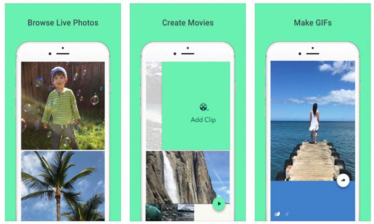 Google Motion Stills, Motion Stills iPhone app, Motion Stills iOS app