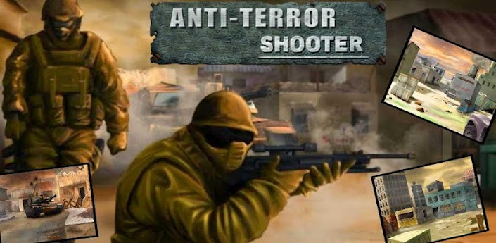 Anti-Terror Shooter, Android Games, Android Apps