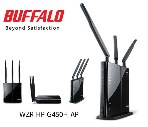 Buffalo Router, Wireless Networking Device