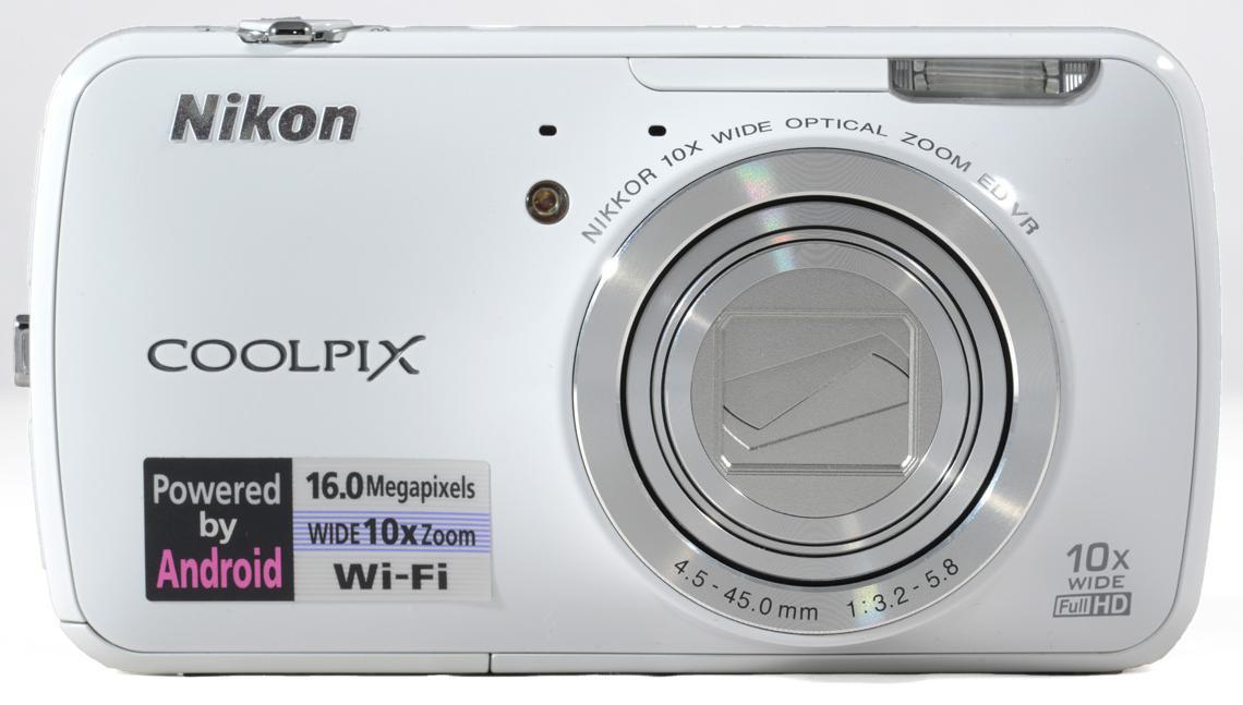 Nikon Coolpix S800c, Android-based compact camera, Nikon Digital Camera