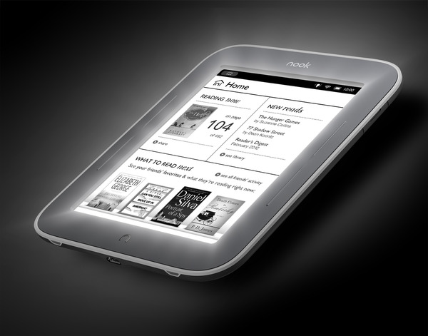 Nook Simple Touch GlowLight, Nook e-reader, eBook Readers
