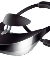 Sony HMZ-T3, Head Mounted Display, Wearable HDTV