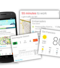 Google Now, Google Now Card