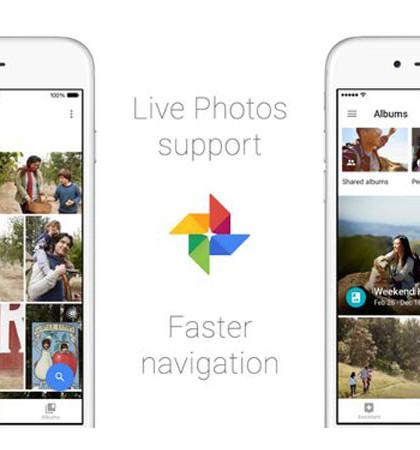 Google, Google Photos, Google Live Photos