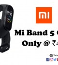 Mi Band 5 Clone, Bitefix M5 Fitness Band, Smart Fitness Band, Smart Band
