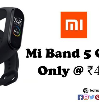 Mi Band 5 Clone, Bitefix M5 Fitness Band, Smart Fitness Band, Smart Band